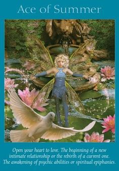 This card indicates that a very rewarding and joyful relationship is about to begin. It may be with a new person who enters your life, or it can represent a new phase of emotional intimacy with a current partner. In order to attain fulfillment in your emotional life, you must first open your heart to love. This includes believing in yourself and your worthiness to be loved. When faced with an outpouring of affection, allow love to flow freely from your own heart, knowing t...