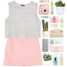 bethany by ladykrystal on Polyvore featuring MANGO, GUESS, Laura Lee, Case-Mate, Chanel, Clinique, Mamonde, NARS Cosmetics, philosophy and Tocca Beauty