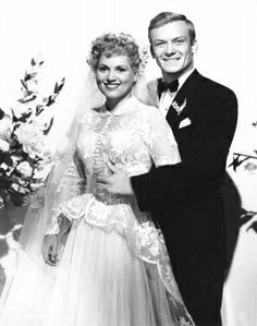 Judy Holliday and Aldo Ray in the film The Marrying Kind (1952)