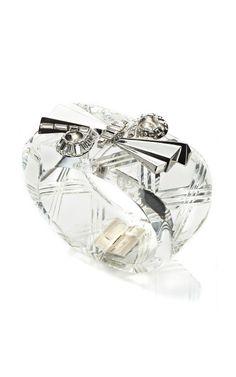 Alexis Bittar Teatro Moderne Double Spiral Cut Bracelet $350