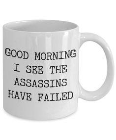 Coffee Mug Quotes, Coffee Humor, Coffee Mugs, Funny Cups, Funny Coffee Cups, Funny Good Morning Quotes, Funny Quotes, Morning Humor, Life Quotes