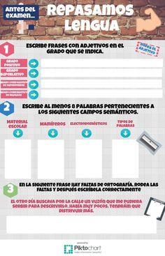 Repasamos Lengua 2.0 | @Piktochart Infographic