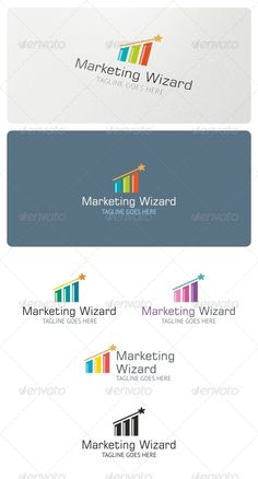 Marketing Wizard  - Logo Design Template Vector #logotype Download it here: http://graphicriver.net/item/marketing-wizard-logo-template/5123477?s_rank=1641?ref=nexion