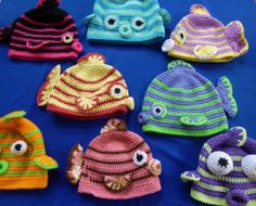Fish Face Hat for boys and girls pattern by Darleen Hopkins Kissy Fish Hat Pattern Daily update on my website: Daily update on my site: Kissy Fish Hat Pattern Daily update on my website: Daily update on my site: Crochet Fish, Crochet Kids Hats, Crochet Beanie, Cute Crochet, Crochet Crafts, Crochet Projects, Knitted Hats, Knit Crochet, Crochet Animal Hats