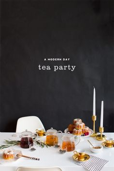 Tea Tasting Party | Oh Happy Day
