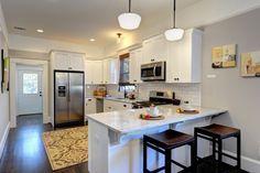 White-modern-G-shaped-Kitchen-layout-idea