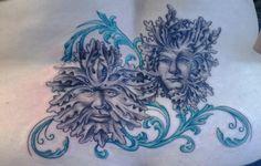 My lower back tattoo, design and tattoo by Jason Rhodes, Intricate Decor, Mt. Pleasant, MI