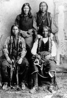 Comanche men (read Empire Of The Summer Moon)