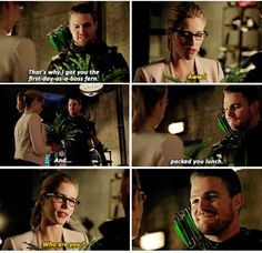 Arrow - Oliver & Felicity #4.2 #Olicity <3