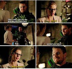 Arrow - Oliver & Felicity #4.2 #Olicity <3