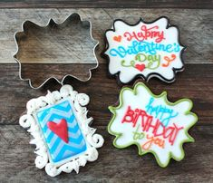 How to Make Ornate Frame Decorated Cookies