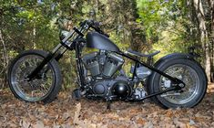 totallyradchoppers:  Gun Metal Black Forest Chopper Custom Built Chopper Motorcycles!