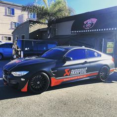 """Michael Larkin on Instagram: """"This was at Breakfast this morning with @iamted7 before heading to the next event of the day! #akrapovic #m4 #m3 #bmw #bmwm4 #bmwm3 #bmwm5 #m5 #bmwsofinstagram #bmwfans #bmwrides #bmwmgram #dreambmws #fast #fastnloud #amazingcars247 #carporn #carverse #carlifestyle #cars_daily16 #carsofinstagram #carswithoutlimits #autokings #autogespot #blacklist #carbon #titanium #radicalcarclub #carsandcoffee"""""""