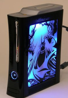 Video game case mods that give me a nerdgasm Photos) - Xbox 360 - Ideas of Xbox 360 - Xbox 360 Batman Playstation, Xbox 1, Video Game Reviews, Video Game News, Nananana Batman, Custom Consoles, Xbox 360 Console, Games Stop, New Video Games