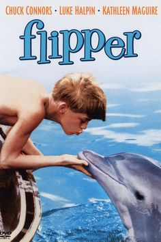 Flipper (TV show)  they call him flipper, flipper faster than lightening, no one you see is smarter than he.