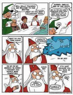 Oooh, Dumbledore