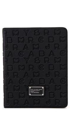 black ipad cover