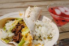 Slow Cooker Barbacoa with Cilantro-Lime Rice