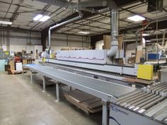 Used Automatic Single-Sided Edgebander - Homag Optimat Used Woodworking Machinery, Lean Manufacturing, April 10, Specs