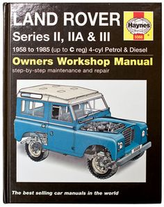 haynes service and repair manual land rover 90 110 and defender rh pinterest com Land Rover Disovery Manual 2009 Land Rover Manual