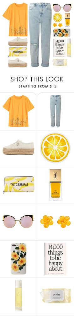 """So here I go"" by shotstyle ❤ liked on Polyvore featuring Miss Selfridge, Superga, Nordstrom Rack, Kate Spade, Yves Saint Laurent, Fendi, Chanel, Sonix, Aromatherapy Associates and philosophy"