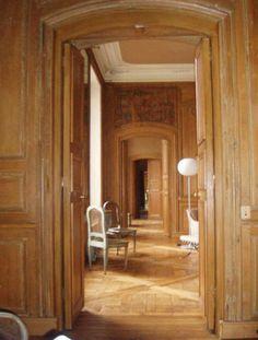 parquet de Versailles belle enfilade