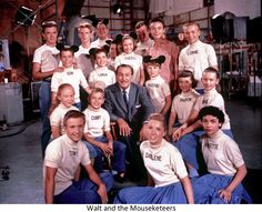 Mousketeers with Walt Disney