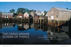 The Grand Manan scheme of things - Island Getaways: Canadian Geographic Travel Magazine Smoked Fish, Canada Eh, Travel Magazines, My Land, New Brunswick, Island Girl, My Happy Place, Wander, Seal