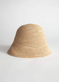 6a370ad7d0c808 And other stories Straw Bucket Hat Beret, Bucket Hat, Leather Bag, Jewelry  Crafts
