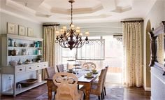 Dining Room I like this one not too stuffy/formal just my style!  #lennardreamhome