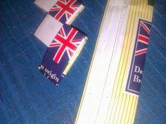 - ReCyklisten: En anglofils bekendelser. Tebreve med Storbritanniens flag genbruges til kuverttaske. Fra affald til unikt modetilbehør. Teabags with Union Jack recycled to clutch. From trask to unique fashion accessory.