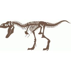 Silhouette Design Store - View Design #75685: dinosaur skeleton