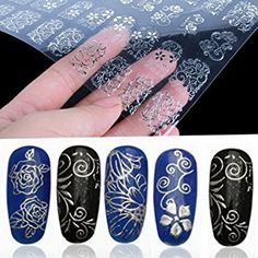 Find a trendy collection of nails art sticker to give attractive look your nails! http://www.aqnailart.com/category/nail-art-sticker
