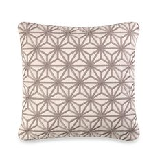 Real Simple® Jules 18-Inch Square Toss Pillow - BedBathandBeyond.com