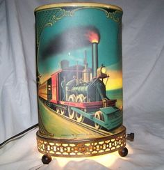 Econolite Train Lamp - My great grandparents had one of these and I was fascinated by it as a child.