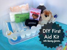 DIY First Aid Kit with Doc McStuffins #DisneyJunior #shop #sp #JuniorCelebrates