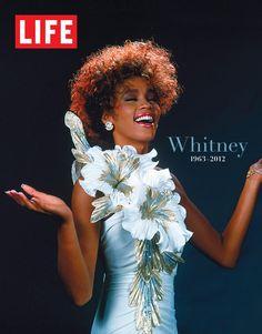Whitney Houston on cover of Life magazine