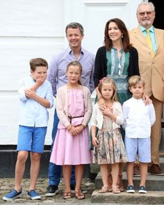 The Danish Royal Family at 2016 Annual Summer Photocall