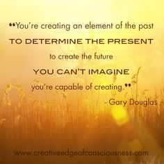 Creative Edge of Consciousness