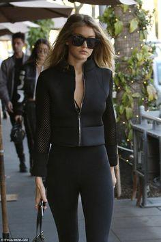 Gigi Hadid out in LA - November 25 2015