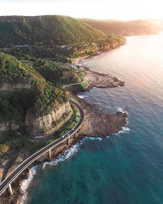 The Sea Cliff Bridge is a balanced cantilever bridge located in the northern Illawarra region of New South Wales, Australia.