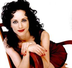 Bebe Neuwirth. Had a major thing for her. It wasn't just the black hair and pale complexion. It was her detached way of speaking.