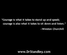 Double Your Courage Quote