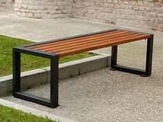 Descarregue o catálogo e solicite preços de banco de madeira Titta - line, coleção Titta ao fabricante A.u.esse