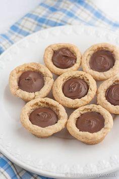 Nutella Cookie Cups recipe
