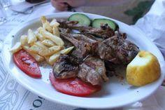 Lamb chops #greek #food