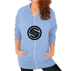 Shortyyguy Shirt Zip Hoodie (on woman) Shirt