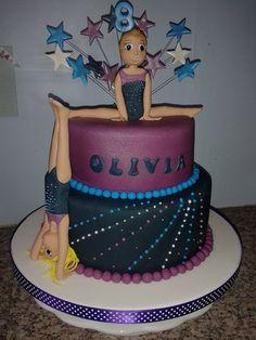 Gymnastics Cake | gymnastic cake chocolate gymnastic cake inspired by the gymnastic club ...