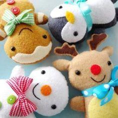 Christmas Softies PDF E-Pattern   YouCanMakeThis.com