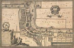 Kaart Overschie 1677 - Plattegrond My Roots, Rotterdam, Holland, Vintage World Maps, The Nederlands, The Netherlands, Netherlands